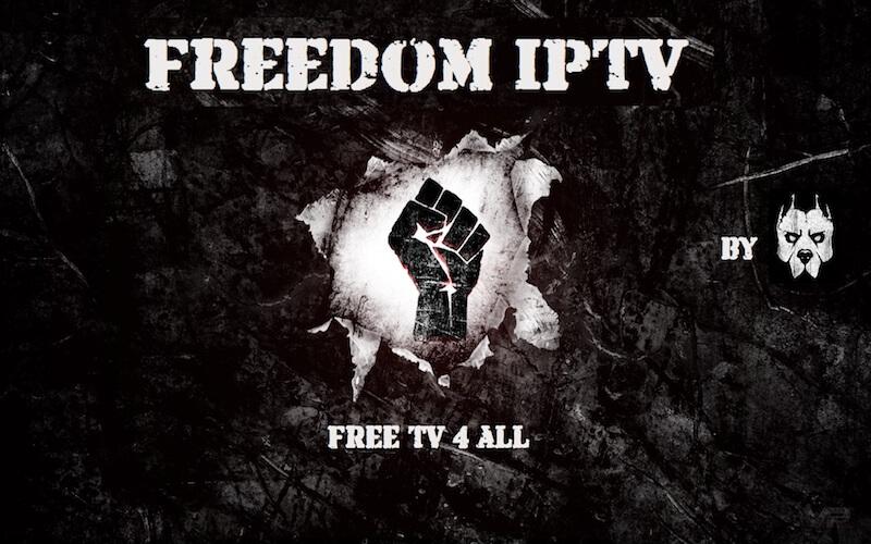 Install Freedom IPTV Kodi