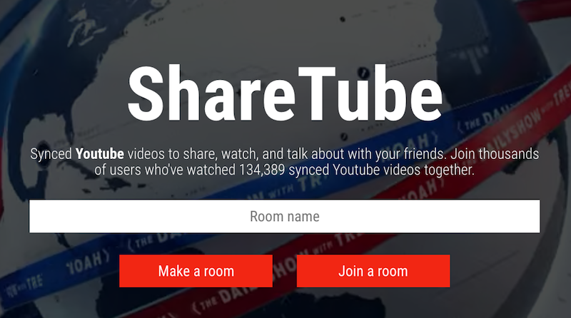 Watch and Chat About YouTube Videos with Friends on ShareTube