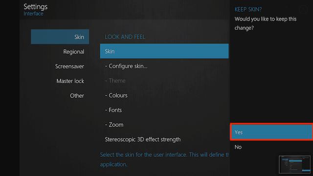 How to Change Skins on Kodi Jarvis / Krypton / Leia